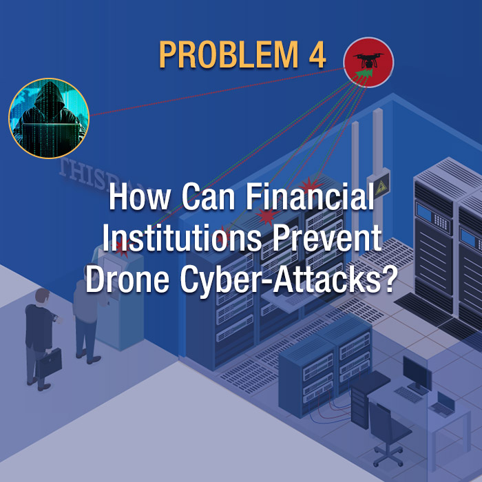 How can financial institutions prevent cyber-attacks?