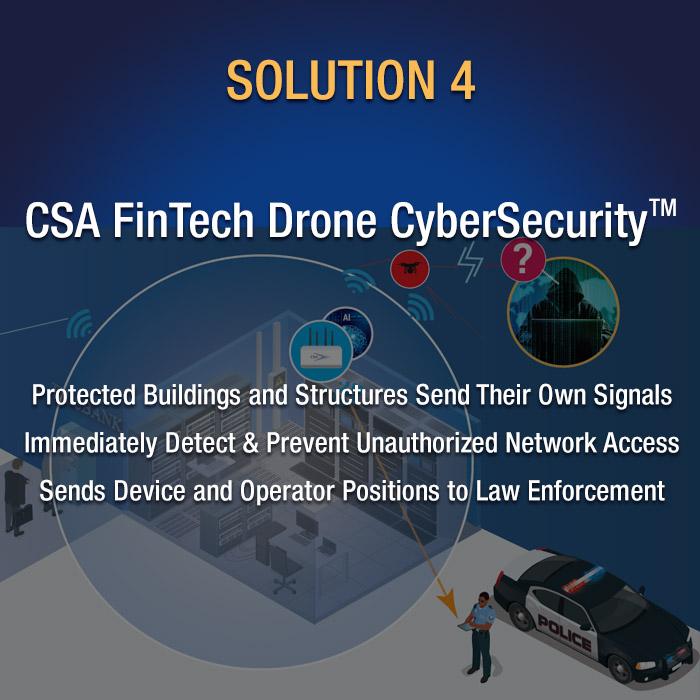 CSA FinTech Drone CyberSecurity(tm)